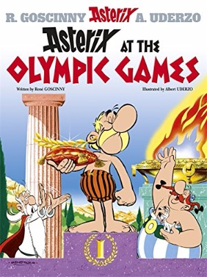 Books to read in English - Asterix at the Olympic Games