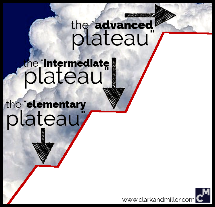 English-learning plateau