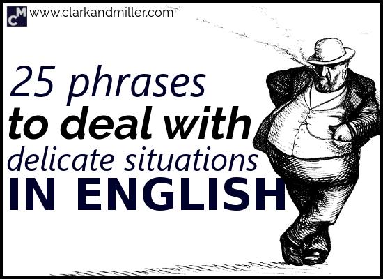25 Common English Euphemisms | Clark and Miller