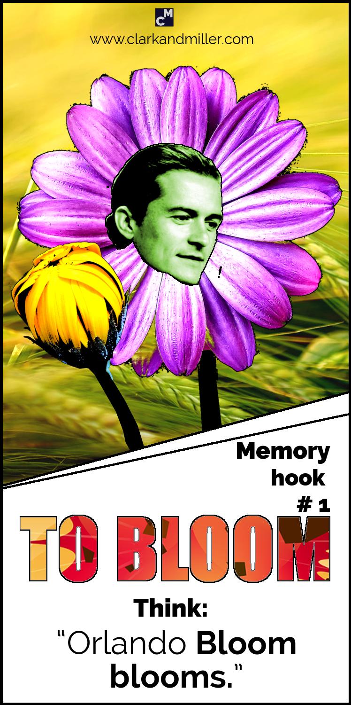 "#1 To Bloom - ""Orlando Bloom blooms."""