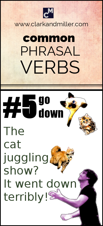 Common Phrasal Verbs #5 | Go down (The show went down terribly!)