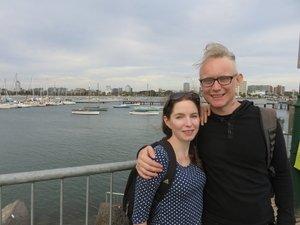 Lisa Miller and Gabriel Clark
