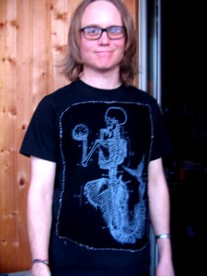 Gabriel's T-shirt