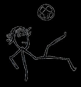 Football vocabulary: striker