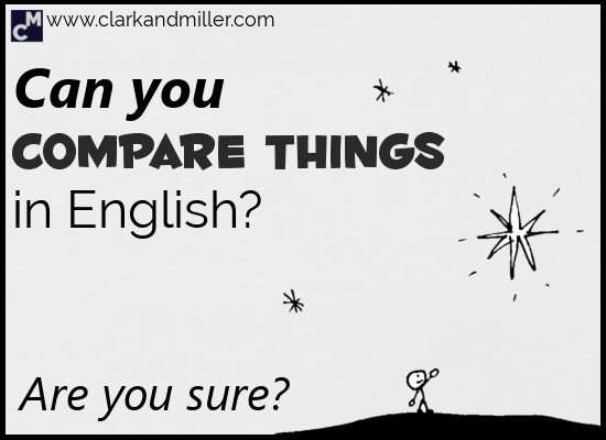 Ways of Comparing in English