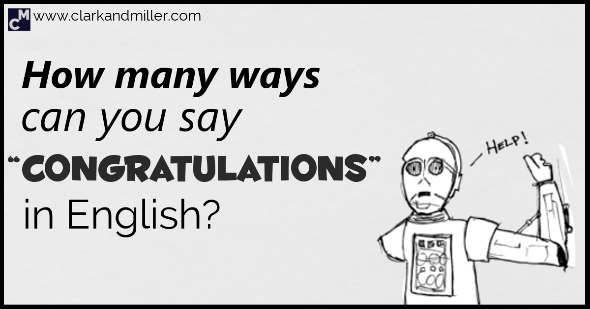 15 ways to say congratulations in english