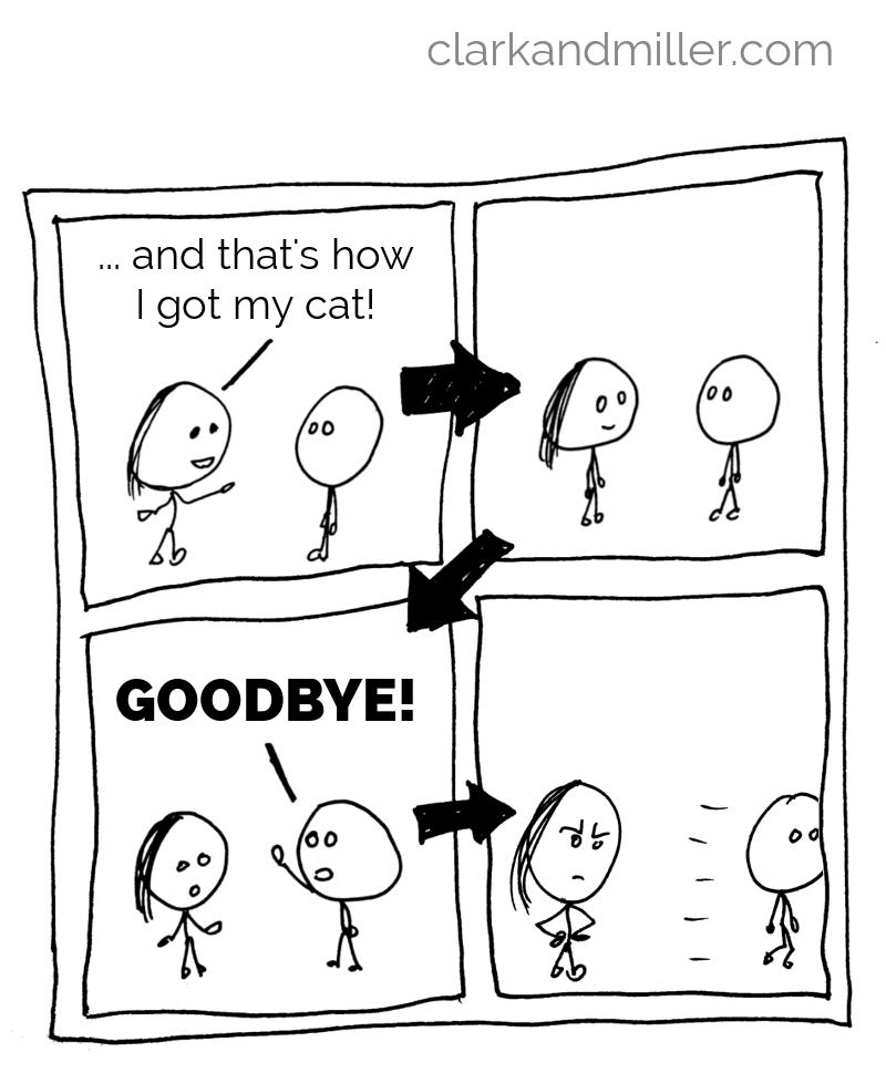 conversation with abrupt end comic