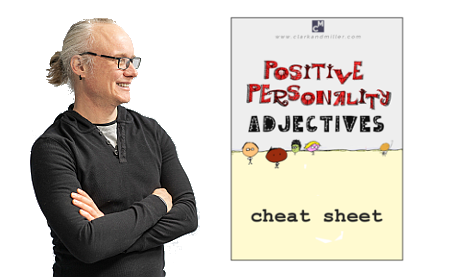 Positive Personality Adjectives Cheat Sheet