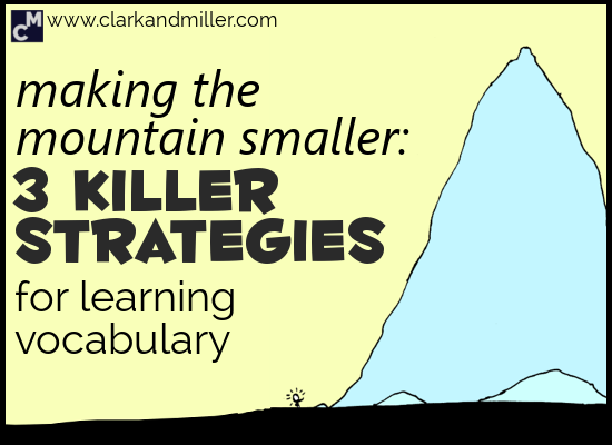 Strategies for Learning English Vocabulary