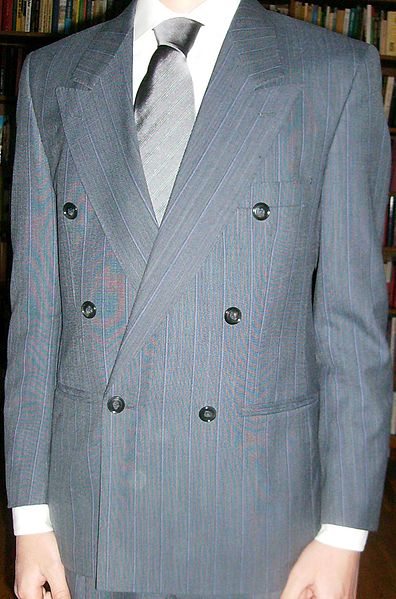 1980s Pinstripe Power Suit