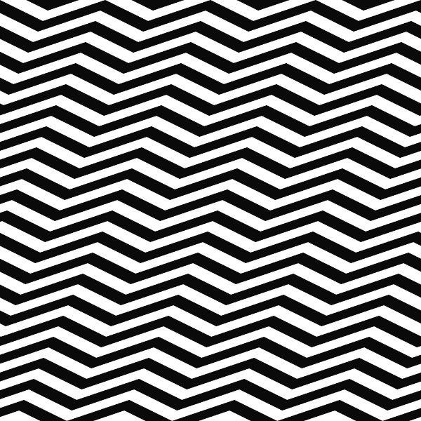 Black-and-white zigzag pattern